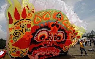 kite festival, jakarta