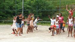 Atividades na colônia de férias 2009