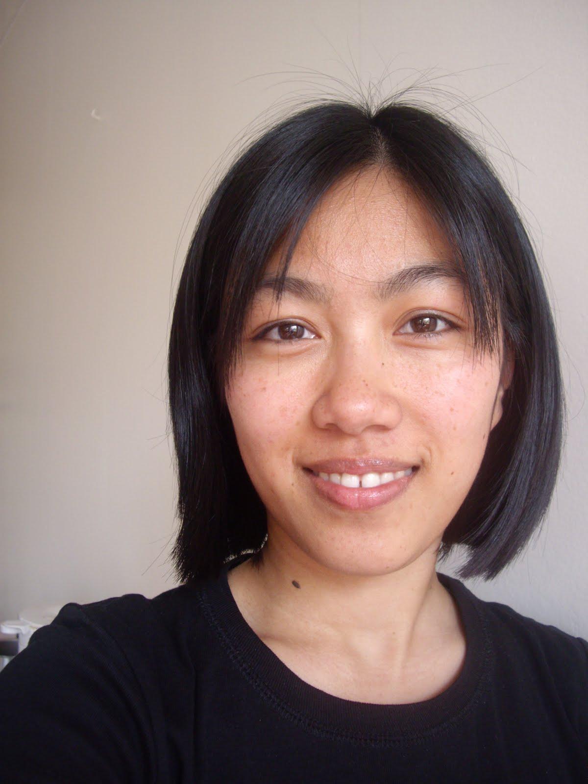Style de photo de cheveux asiatiques