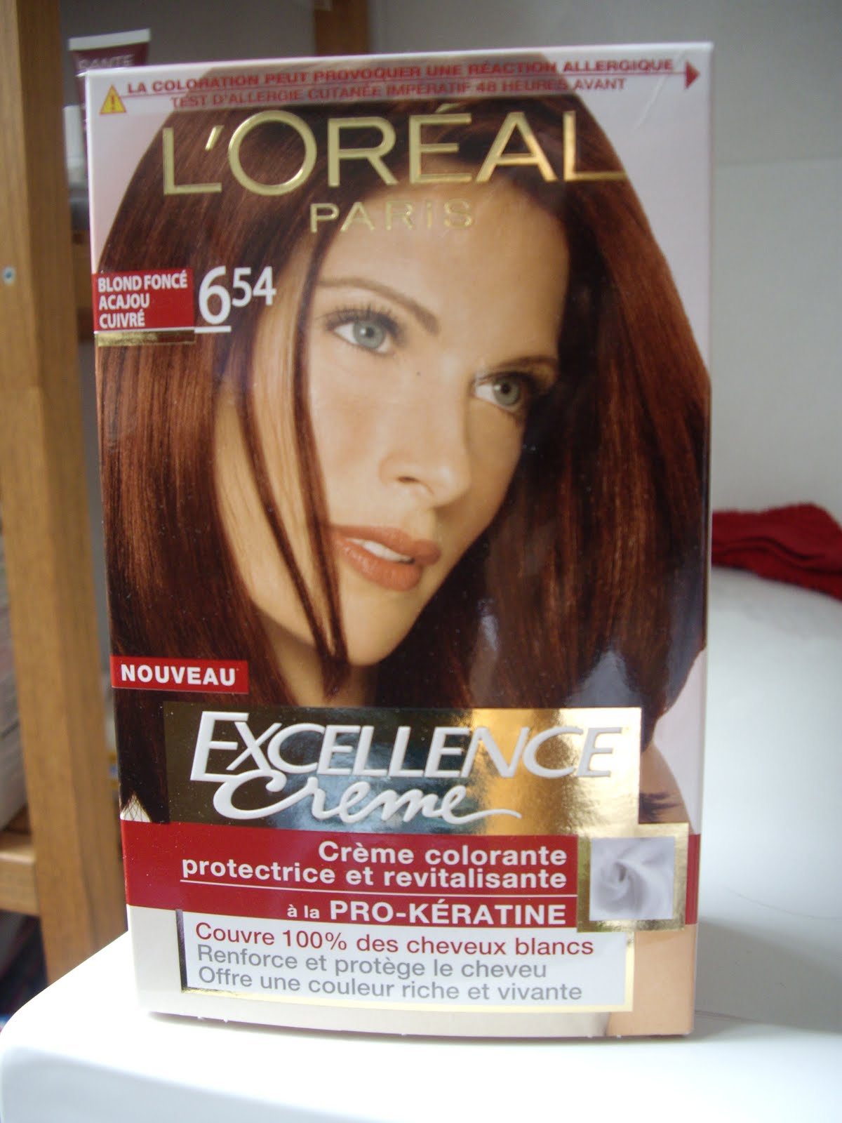 Coloration cheveux excellence 7