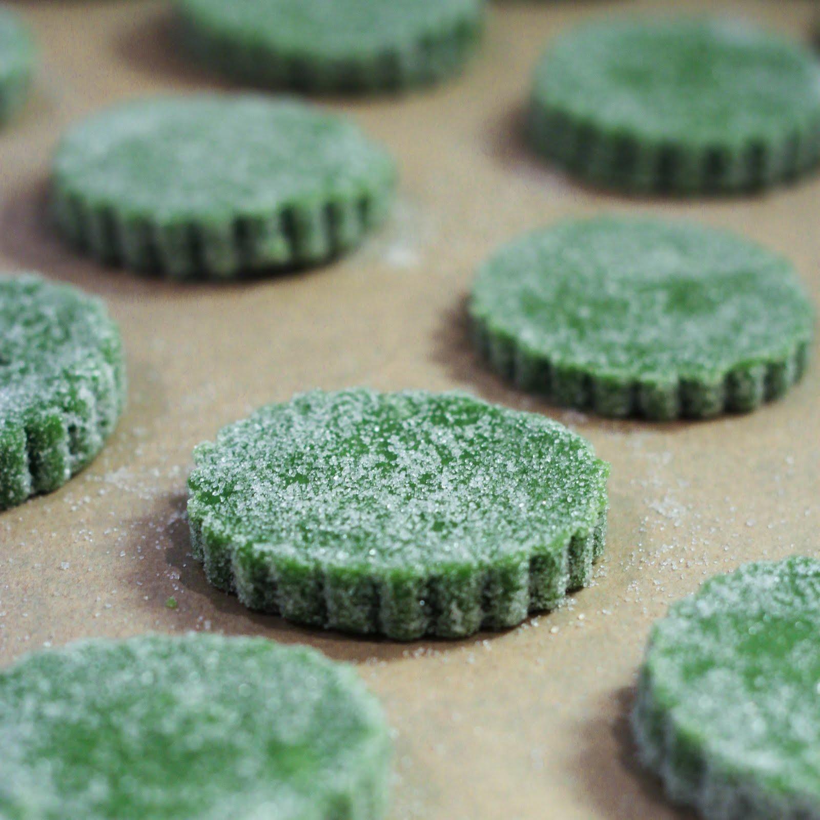 Matcha Green Tea Shortbread Cookies — asian , cookies , dessert ...