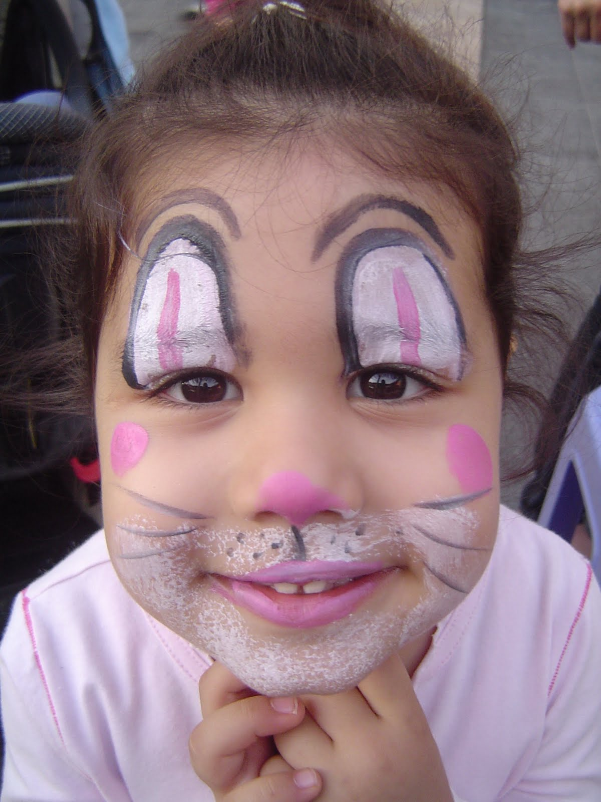 Noelles Blog Face Painting Ideas Butterflys Clowns Rabbits