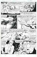 Página original de John Romita Jr. propiedad de Ferran Delgado