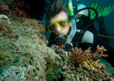 Steina with Nudibranch, Temple Garden, Pemuteran, NW Bali