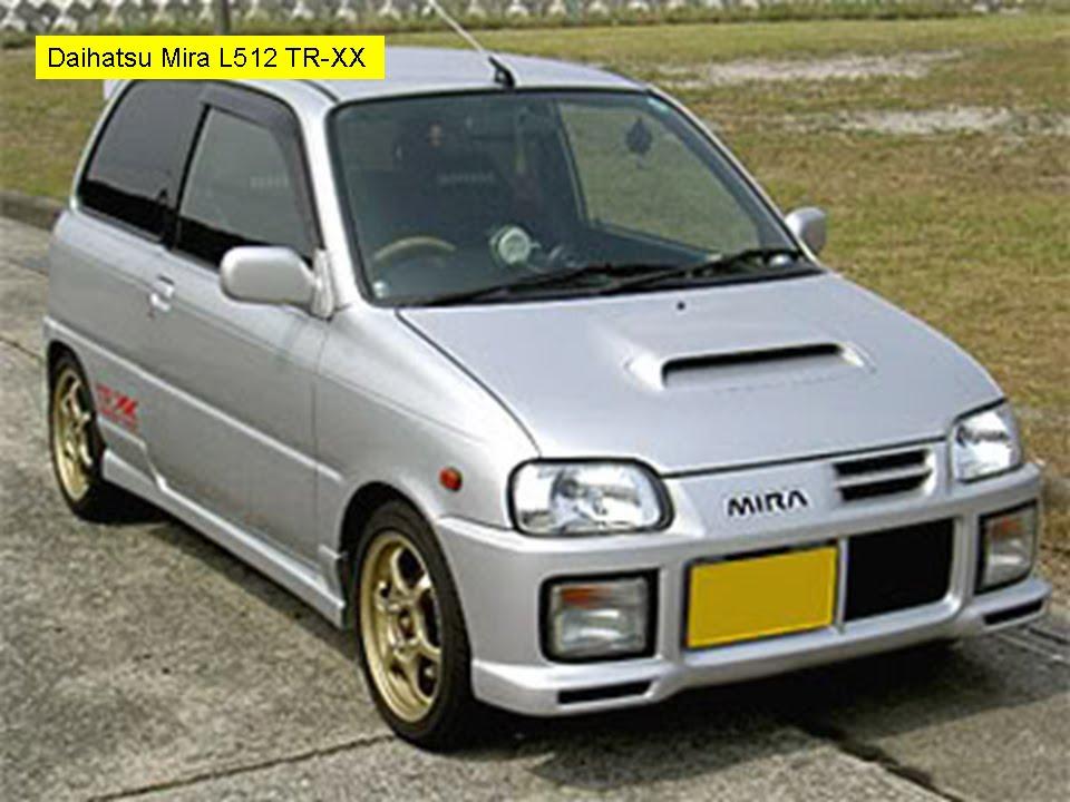 Daihatsu Mira L5. Daihatsu Mira L512