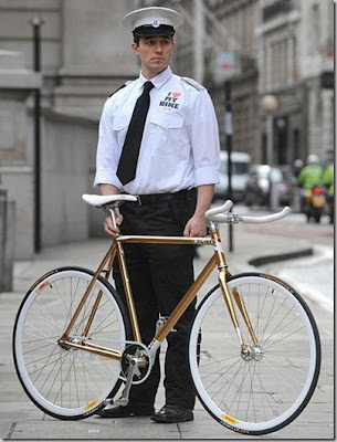 Celebrity Gold Bike (Needs Security Guard)