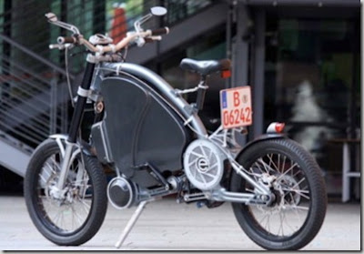 Electric Assist Bicyce By Erockit