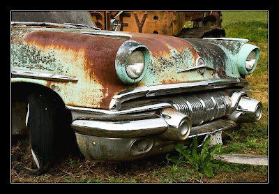 about old abandoned cars