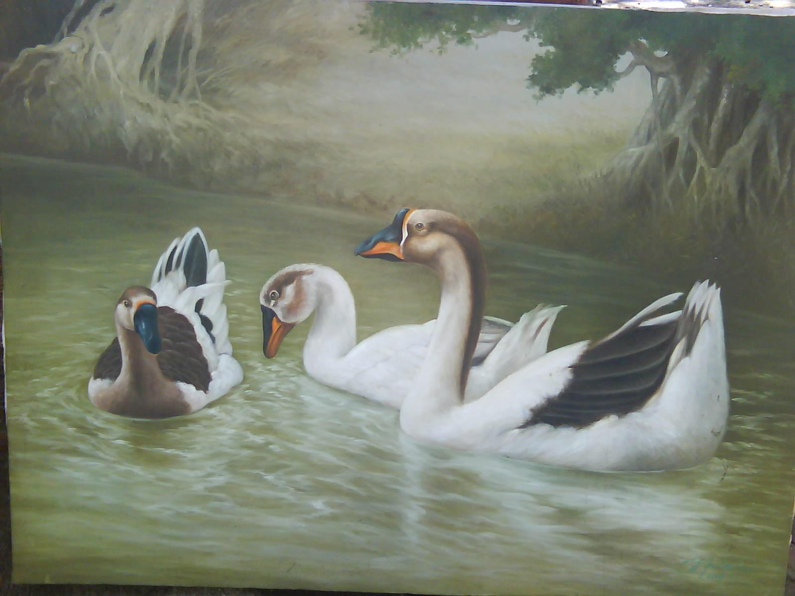 Gambar Lukisan Tercantik
