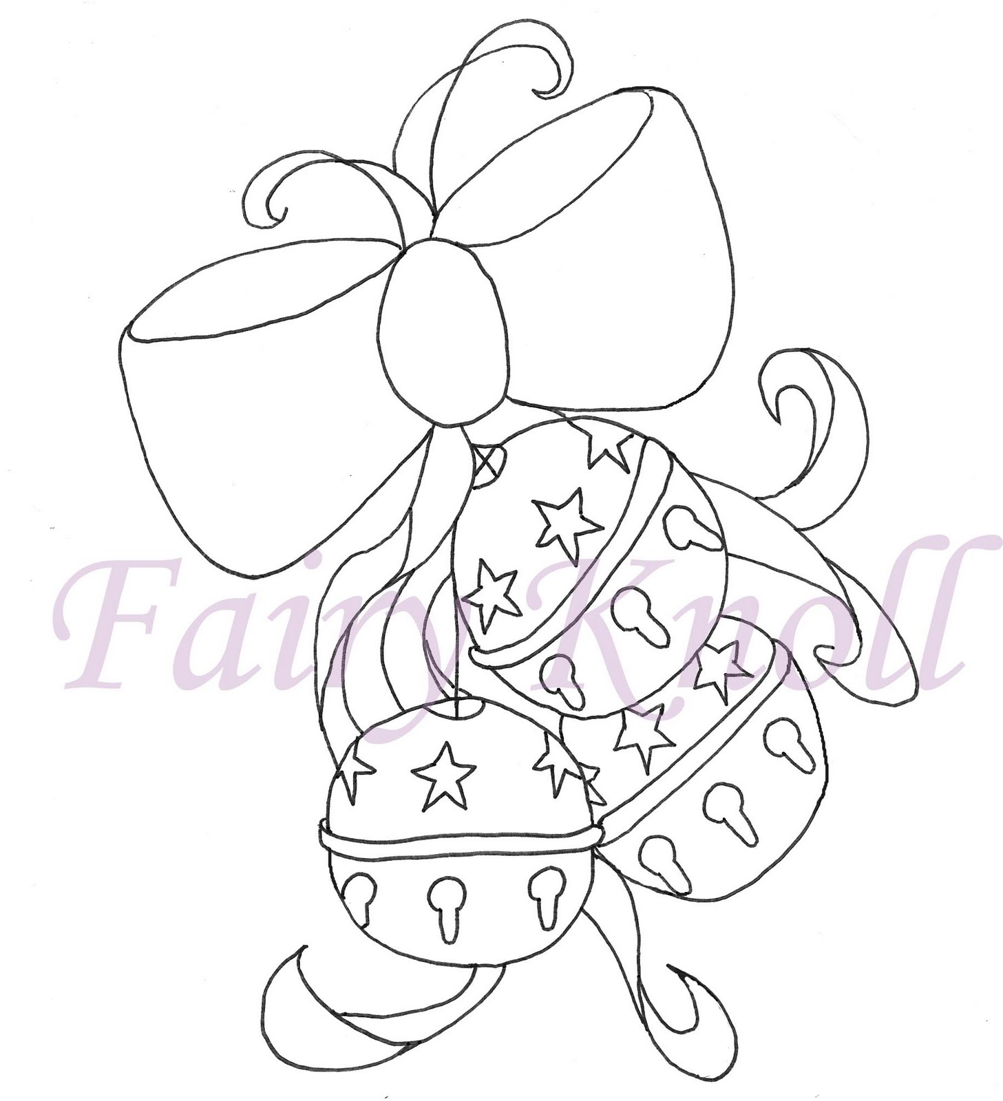 jingle bells coloring pages - photo#10