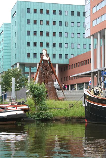 Grachtenfahrt in Groningen