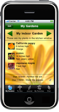 master gardener iphone itouch app