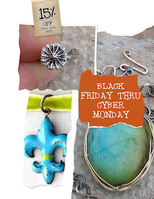 black friday etsy sale from handmademodernjewelry.blogspot.com