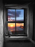 atravez de una ventana...