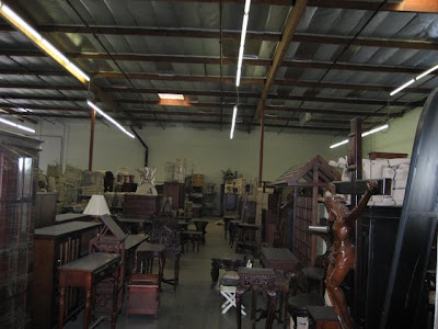 Los Angeles Warehouse - Interior View