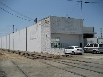 Vernon Los Angeles Warehouse Exterior View