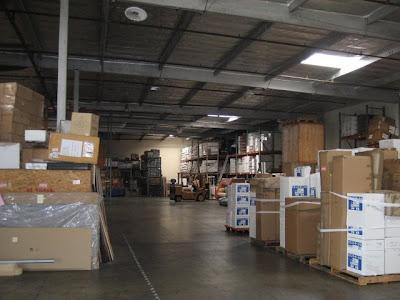 Vernon Los Angeles Warehouse - Interior View