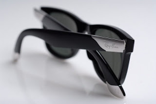 ray ban wayfarer sunglasses limited edition  limited edition sunglasses. the ultra wayfarer is made of black acetate with its own unique serial number stamped inside the temple. the ray ban logo is
