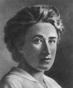 Rosa Luxemburgo - Filósofa - Economista Marxista - Militante Revolucionária - 1871 / 1919