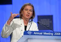 Tzipi Livni - Advogada e Política Israelense - Nasceu em 1958