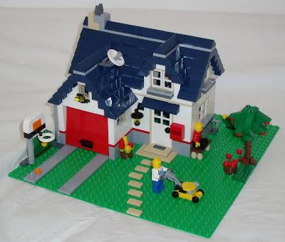 Lego Maker Lego 5891 Apple Tree House