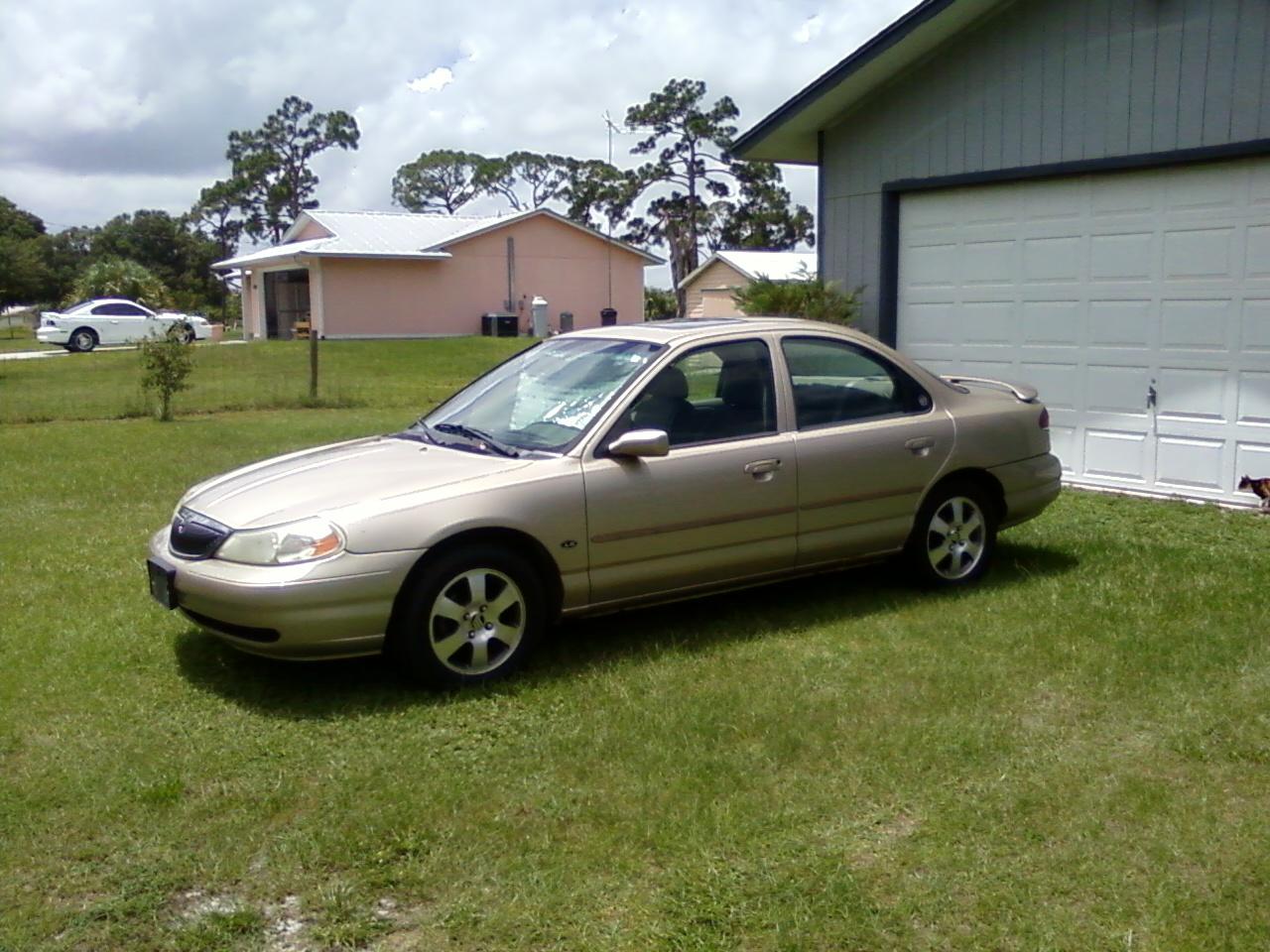 My car 2000 mercury mystique