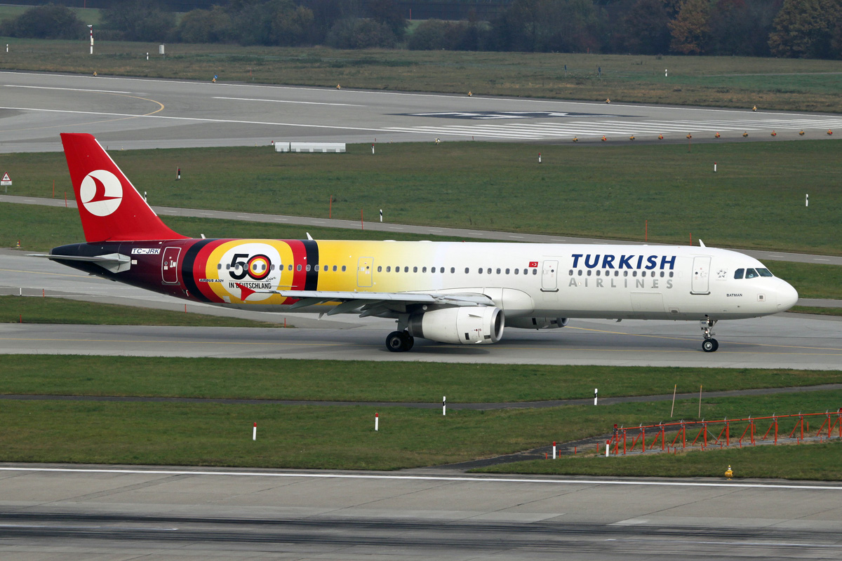 Turkish Airlines Turkish+Airlines+-+Airbus+A321-231+-+TC-JRK+-+6738+NET