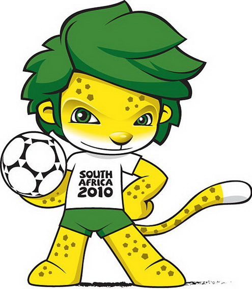 FIFA World Cup Schedule 2010 Soccer And Football Mascot Is Zakumi In