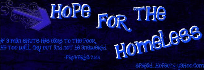 Hope For The Homeless