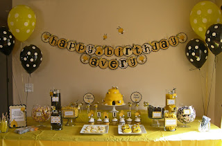 Here Is The Treat Table I Had So Much Fun Decorating It Just Looking At Makes Me Smile
