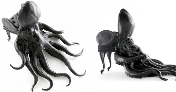 Bonkers About Buttons Maximo Riera Octopus Chair