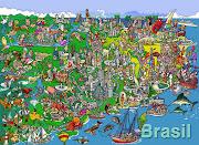 O Brasil é um país multirracial e multicultural, com a alegria de sêlo, . (bg brasil )