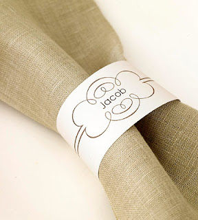 Soft image intended for printable napkin rings template