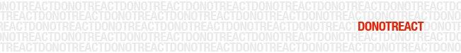 DoNotReact
