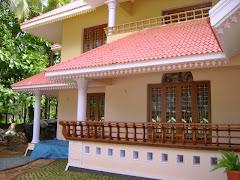 Traditional  Kerala verandah