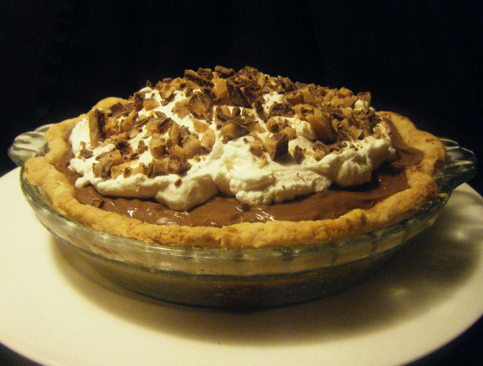 west side baker: ABC: Caramel Chocolate Cream Pie