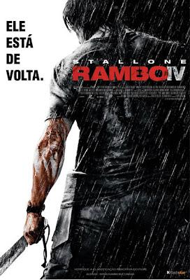 Filme Poster Rambo IV DVDRip RMVB Legendado