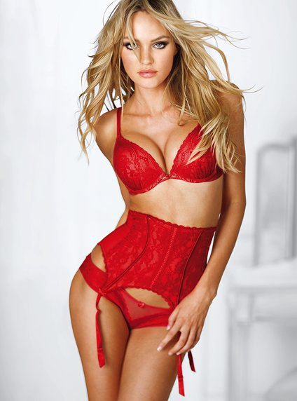 red lingerie