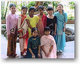 Multi Racial Singapore Picture on Children Of Different Races Wearing Different Traditional Costumes
