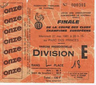 1981, PARIS (Liverpool)