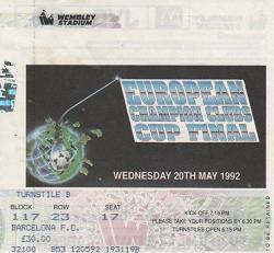 1992, LONDRES (FC Barcelona)