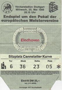 1988, STUTTGART (PSV Eindhoven)