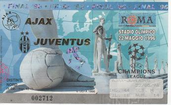 1996, ROMA (Juventus)