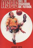 ASES DEL IX MUNDIAL DE FUTBOL 1970 (FHER)