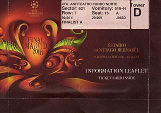 2010, MADRID (Inter Milan)