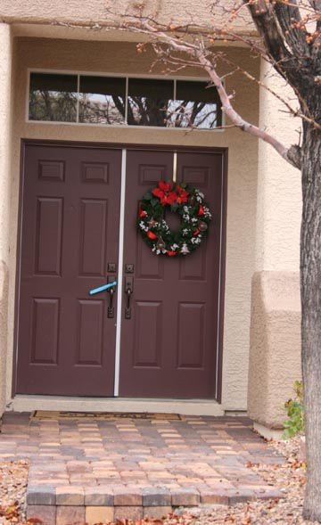 For Some Personalities However, The Two Door, One Wreath Option Seems Out  Of Whack. Looking At It Makes You A Tiny Bit Cockeyed. Thereu0027s An Easy  Solution.