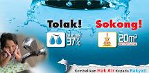 Kembalikan Hak Air Kepada Rakyat Selangor