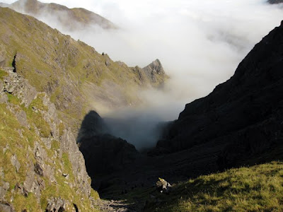 Carrauntoohil by O'Sheas Gully, County Kerry