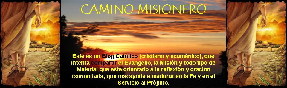 CAMINO MISIONERO