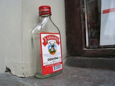 Latvian vodka